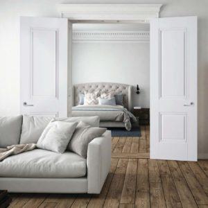 White Primed Doors