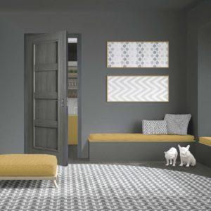 Grey Laminate Doors